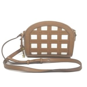 Fossil Chelsea Small Leather Crossbody Han…